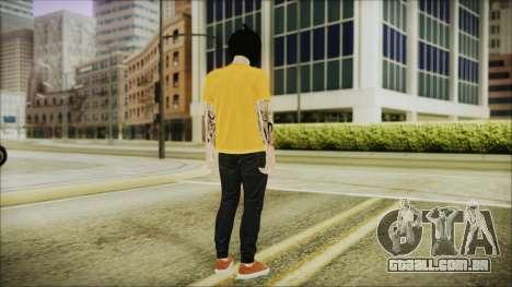 DLC Halloween GTA 5 Calabaza para GTA San Andreas terceira tela