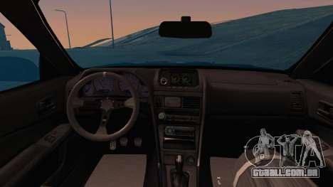 Nissan Skyline Street Racing Syndicate para GTA San Andreas vista traseira