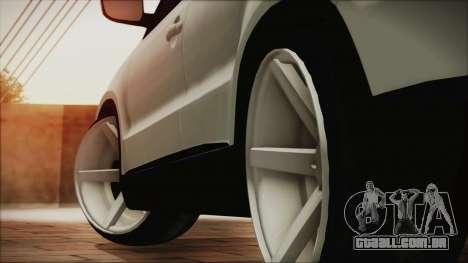 Volkswagen Tiguan Vossen Edition para GTA San Andreas traseira esquerda vista