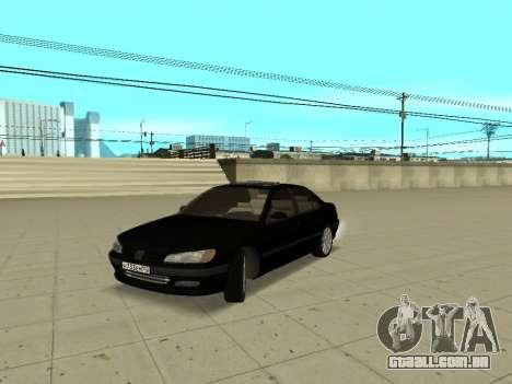 Peugeot 406 para GTA San Andreas