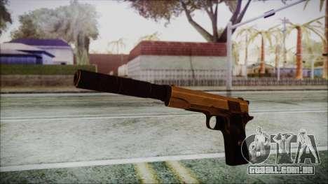 Original Colt 45 Silenced HD para GTA San Andreas segunda tela