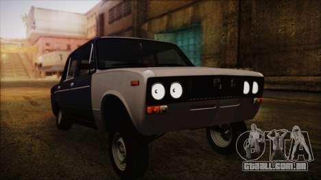 Bully VAZ 2106 Azeri Estilo para GTA San Andreas