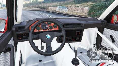 GTA 5 BMW M3 (E30) 1991 [Wild Autonio] v1.2 vista lateral direita