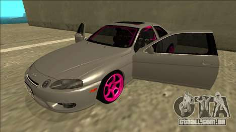 Lexus SC 300 Drift para vista lateral GTA San Andreas