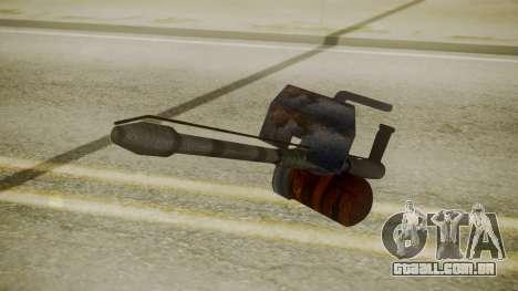 GTA 5 Flame Thrower para GTA San Andreas terceira tela
