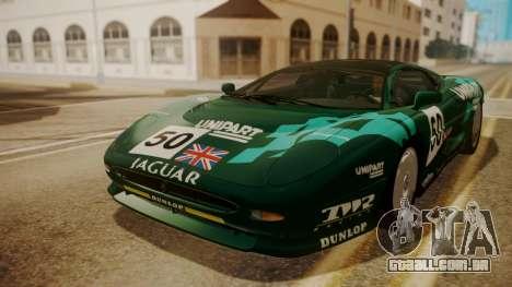 Jaguar XJ220 1992 FIV АПП para as rodas de GTA San Andreas