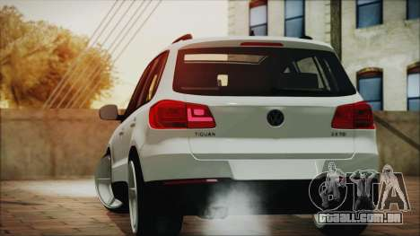 Volkswagen Tiguan Vossen Edition para GTA San Andreas