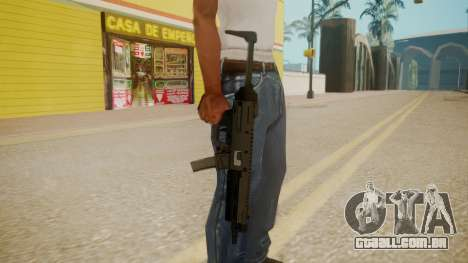 GTA 5 MP5 para GTA San Andreas terceira tela