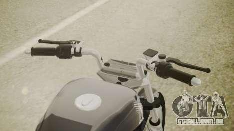 Honda Titan CG150 Stunt para GTA San Andreas vista direita