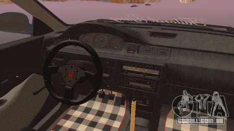 Honda Civic EG6 para GTA San Andreas vista direita