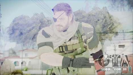 MGSV Phantom Pain Snake Scarf Tiger para GTA San Andreas