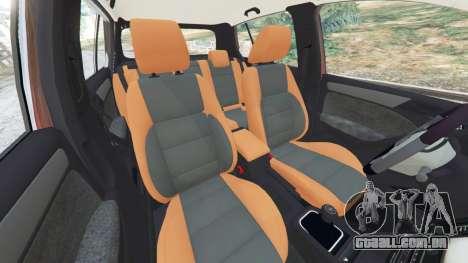 GTA 5 Volkswagen Golf Mk6 v2.0 [Slipknot] vista lateral direita