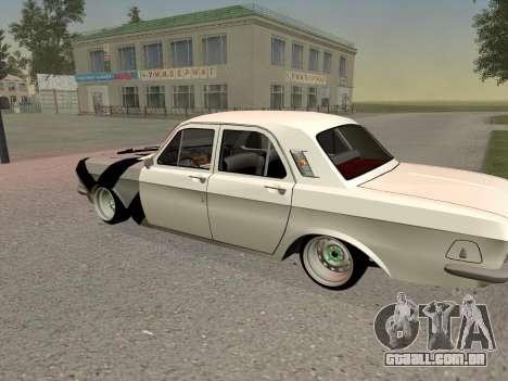 GÁS 24 BQ para GTA San Andreas vista traseira