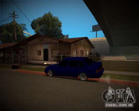 VAZ-2115 para GTA San Andreas esquerda vista