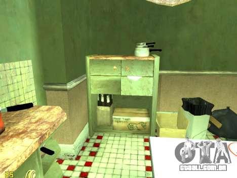Apartamento de GTA IV para GTA San Andreas nono tela