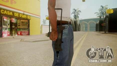 GTA 5 Micro SMG para GTA San Andreas terceira tela