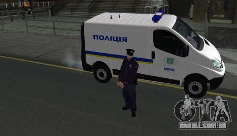 A Polícia Nacional Da Ucrânia para GTA San Andreas terceira tela