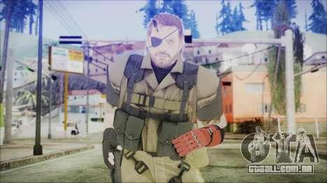 MGSV Phantom Pain Snake Normal Olive Drab para GTA San Andreas