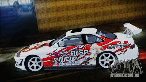 Lexus SC300 Edit para GTA San Andreas esquerda vista