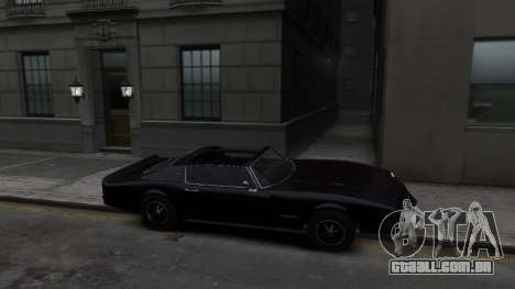Classic Muscle Phoenix IV para GTA 4 vista de volta