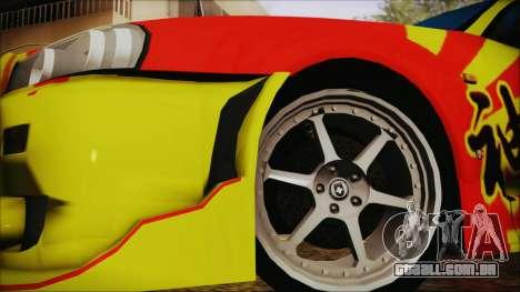 Nissan Skyline Street Racing Syndicate para GTA San Andreas traseira esquerda vista