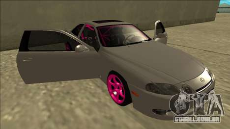 Lexus SC 300 Drift para GTA San Andreas vista inferior