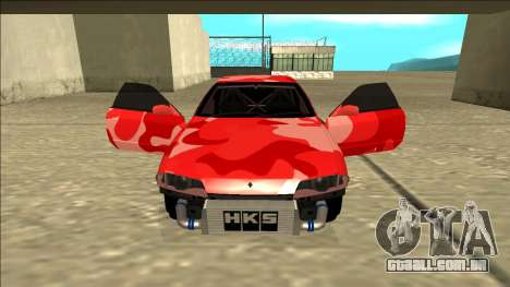 Nissan Skyline R32 Drift para GTA San Andreas vista inferior