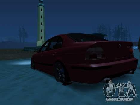 ENB Series [MEDIUM PC] para GTA San Andreas quinto tela