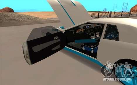 Elegy DRIFT KING GT-1 para o motor de GTA San Andreas