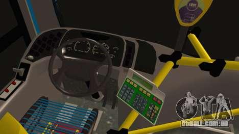 Mercedes-Benz OH1315LSB Metalpar Tronador para GTA San Andreas traseira esquerda vista