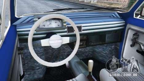 Fiat 126p v1.1 para GTA 5