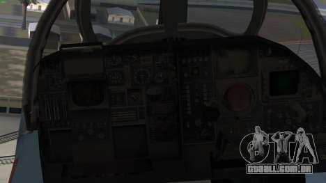 Northrop Grumman EA-6B Prowler VAQ-129 para GTA San Andreas vista direita