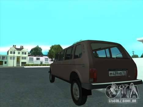 VAZ 2131 Samudera para GTA San Andreas vista direita
