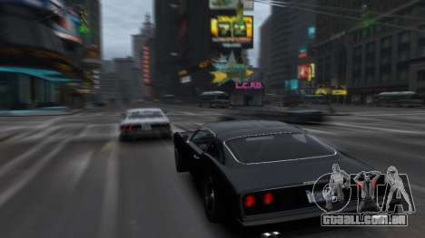 Classic Muscle Phoenix IV para GTA 4 traseira esquerda vista
