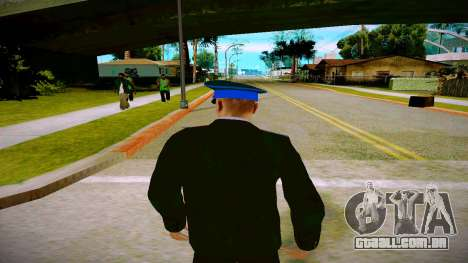 O funcionário do Ministério da Justiça v1 para GTA San Andreas por diante tela