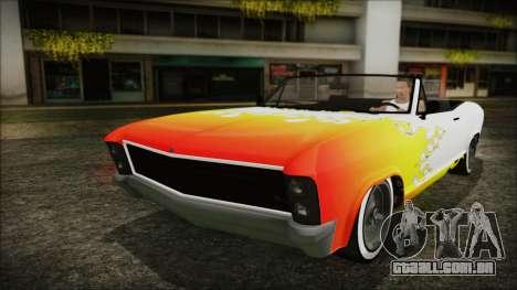 GTA 5 Albany Buccaneer Bobble Version IVF para vista lateral GTA San Andreas
