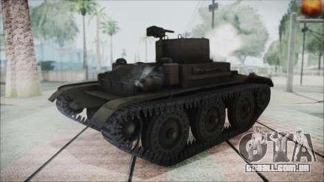 T7 Combat Car para GTA San Andreas traseira esquerda vista