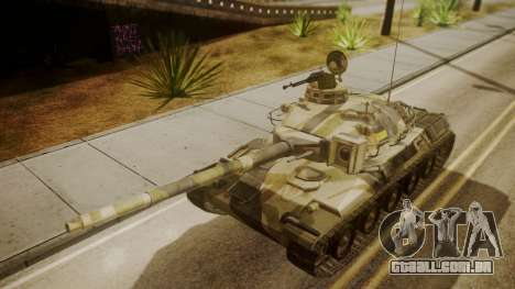 AMX 30 from Mercenaries 2 World in Flames para GTA San Andreas vista direita