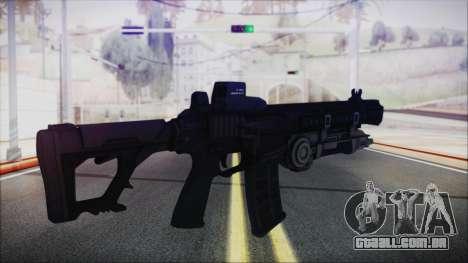 SOWSAR-17 Type G Assault Rifle with Grenade para GTA San Andreas segunda tela