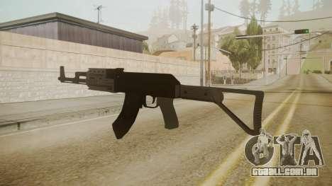 GTA 5 AK-47 para GTA San Andreas terceira tela