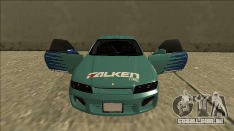 Nissan Skyline R33 Drift Falken para GTA San Andreas vista superior