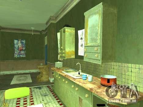 Apartamento de GTA IV para GTA San Andreas décima primeira imagem de tela