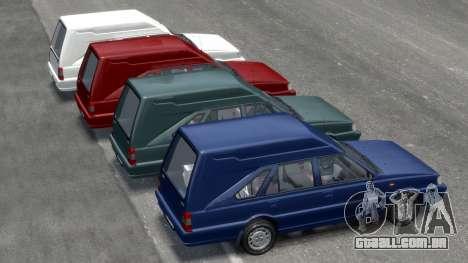 Daewoo-FSO Polonez Cargo Van Plus 1999 para GTA 4 rodas