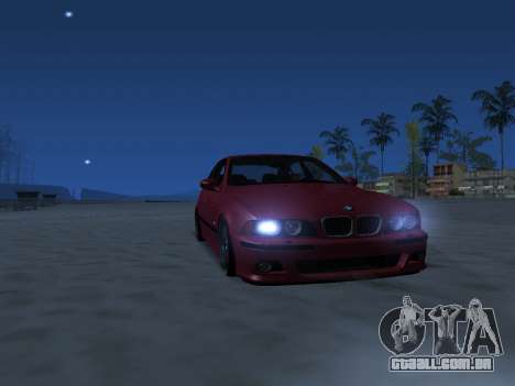 ENB Series [MEDIUM PC] para GTA San Andreas por diante tela