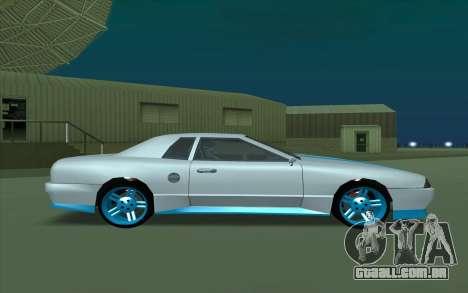 Elegy DRIFT KING GT-1 para GTA San Andreas traseira esquerda vista