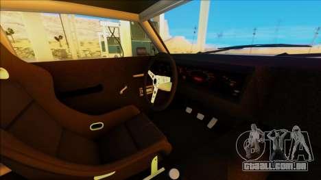 Sabre Race Edition para GTA San Andreas vista traseira