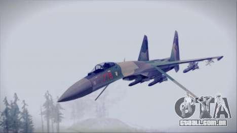 Sukhoi SU-35S East German Air Force para GTA San Andreas