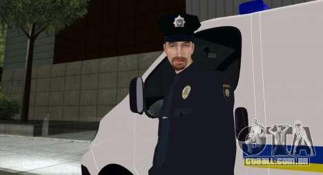 A Polícia Nacional Da Ucrânia para GTA San Andreas