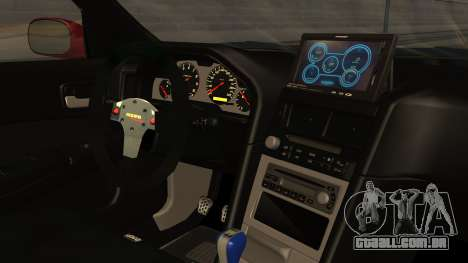 Nissan Skyline R34 FnF 4 v1.1 para GTA San Andreas vista direita