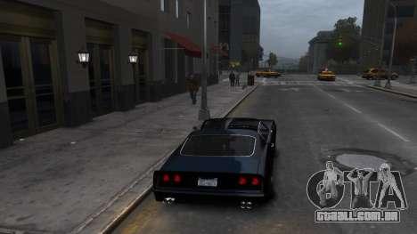 Classic Muscle Phoenix IV para GTA 4 vista direita